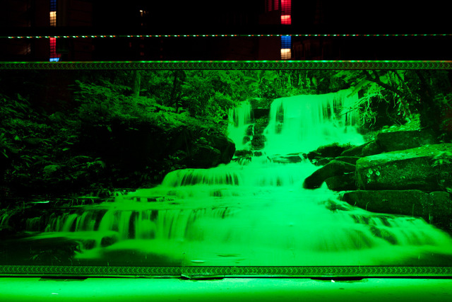 , 'Urban Street Night Club (Waterfall),' 2013, SA SA BASSAC