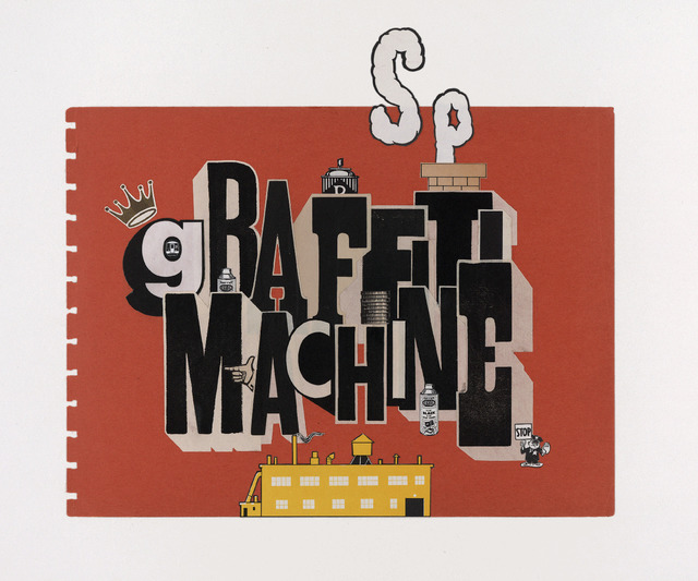 , 'Graffiti Machine,' 2011, McCaig-Welles