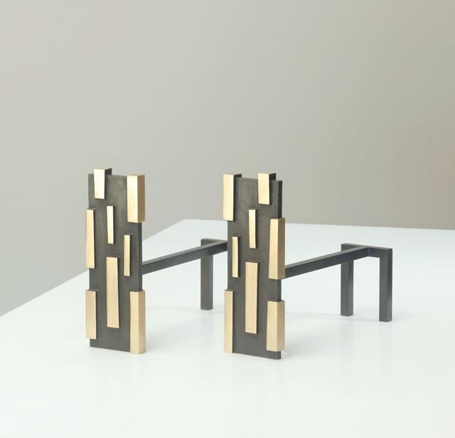 Hervé van der Straeten, 'Chenet - Pair of Andirons', 2012, Maison Gerard