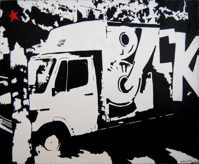 Blek le Rat, ''Untitled'', 2006, Kapopoulos Fine Arts