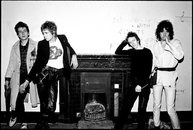 Sheila Rock, 'The Clash, Camden Rehearsal Studio, London', ca. 1978, ElliottHalls