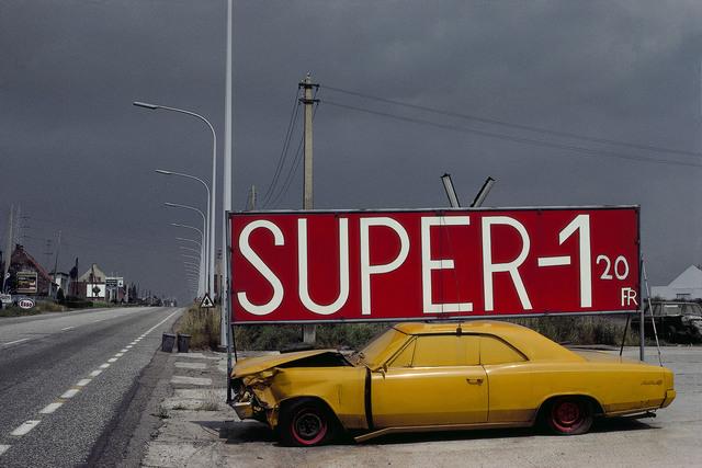 , 'Antwerp province. National road #1. Near Mechelen.,' 1988, Magnum Photos