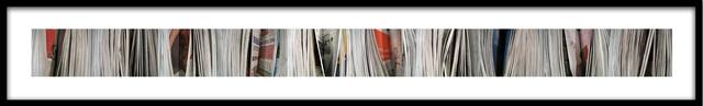 Barbara Astman, 'hemingway, Newspaper series', 2006, Corkin Gallery