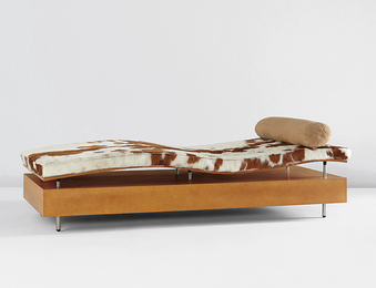 "Maya Lin, '""Longitude Chaise,"" from the ""Earth is (Not) Flat"" series,' ca. 1998, Phillips: Design"