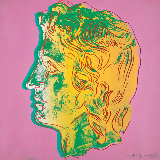 Andy Warhol, 'Alexander the Great', 1982, Moderna Gallery