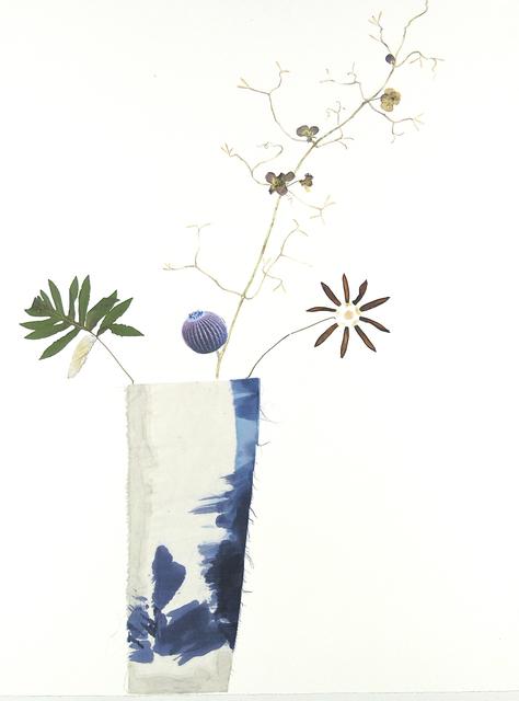 , 'Blue Cactus Violets ,' 2017, Kathryn Markel Fine Arts