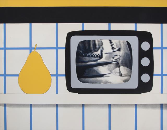 Tom Wesselmann, 'T.V. Still Life', 1965, Print, Screenprint on paper, Julien's Auctions