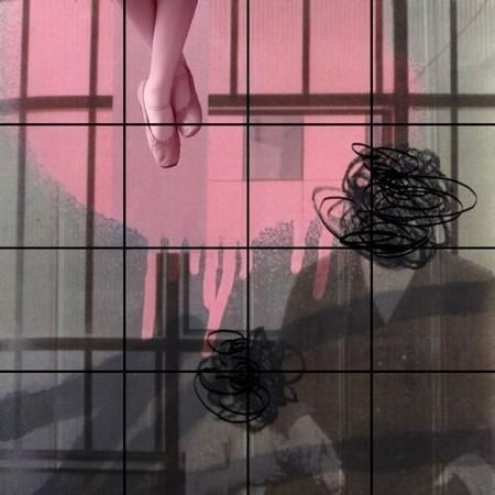 Silvia Poloto, 'Ballet Slippers', 2020, Painting, Mixed Media on Panel, EDNA Contemporary