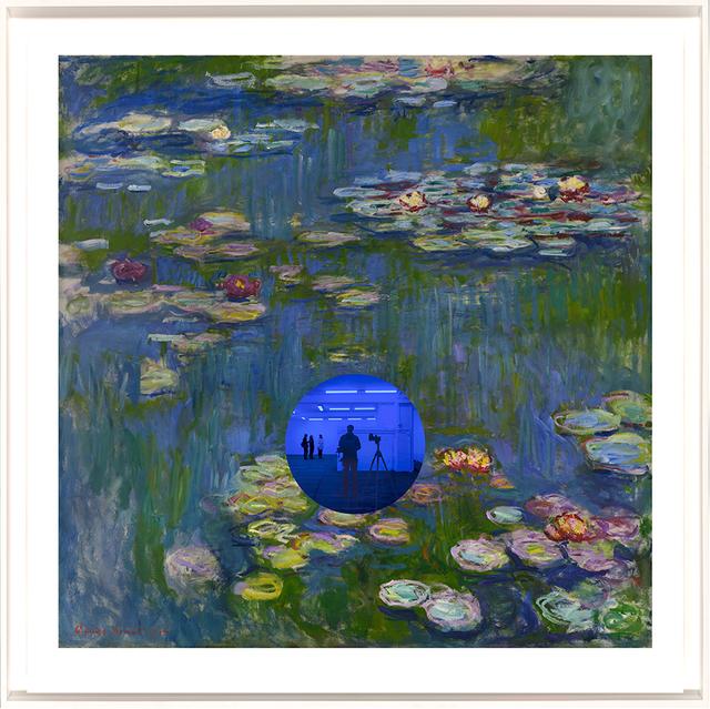 , 'Gazing Ball (Monet Waterlilies),' 2018, Jonathan Novak Contemporary Art