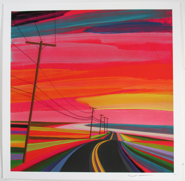 , 'Sunset on Old Montauk Highway II,' 2016, Roman Fine Art