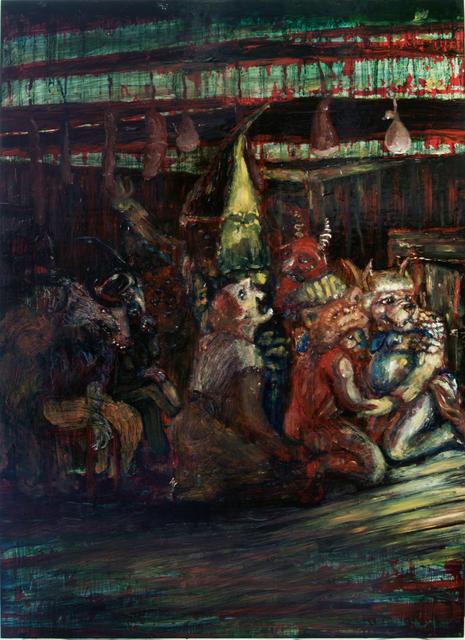 , 'the salami gang,' 2013, SEA Foundation