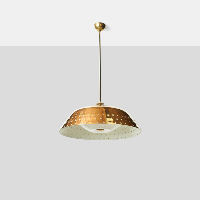 , 'Large Brass Chandelier by Lisa Johansson Pape ,' , Almond & Co.
