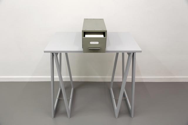 , '1 m,' 1974, Galerie Micheline Szwajcer