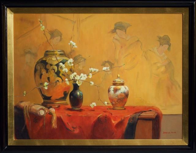 , ''White Japonica' ,' 2014, Wentworth Galleries