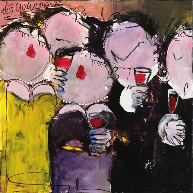 , 'Les Gourmands,' 2016, Artspace Warehouse