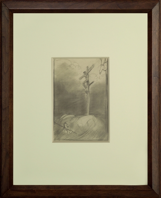 , 'Crucifixion,' ca. 1900, Thurston Royce Gallery of Fine Art, LTD.
