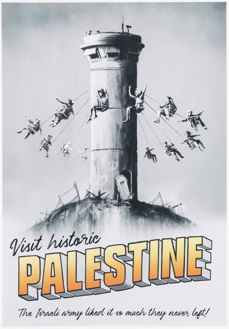 Banksy, 'Visit Historic Palestine (The Walled Off Hotel poster)', 2018, Artificial Gallery