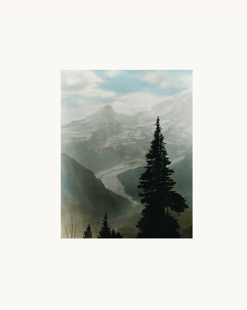 Peter Funch, 'Mt. Rainier Emmons Glacier From Sunrise Park Road, print of vintage photo', 2015, V1 Gallery
