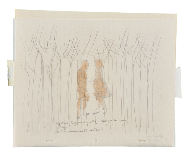 Avish Khebrehzadeh, 'Untitled (from The Cow)', 2003, Drawing, Collage or other Work on Paper, Olive oil, graphite and varnish on vellum paper, Rago/Wright