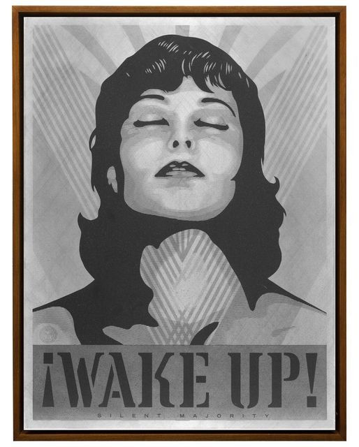 , 'Wake Up (AP) ,' 2017, Library Street Collective