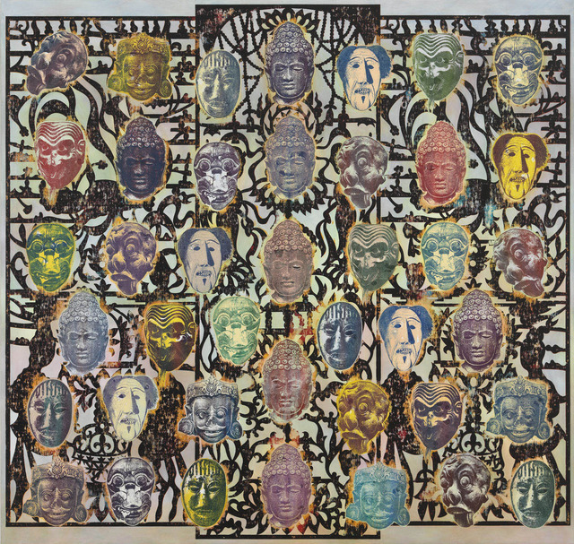 , 'Buddha Field,' 2011, Gagosian Gallery