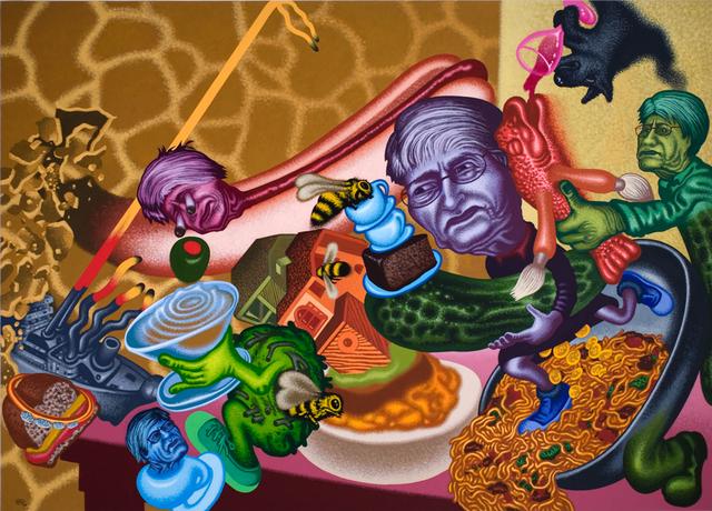 , 'Bad Restaurant,' 2008, Gary Tatintsian Gallery