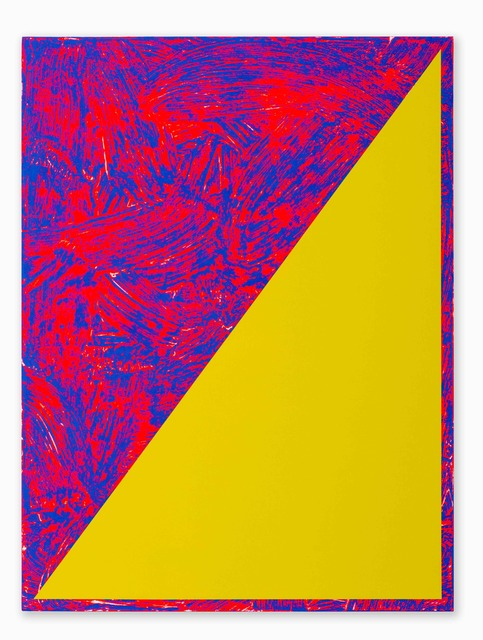, 'Untitled (Triangle Painting #11),' 2015, CORDESA