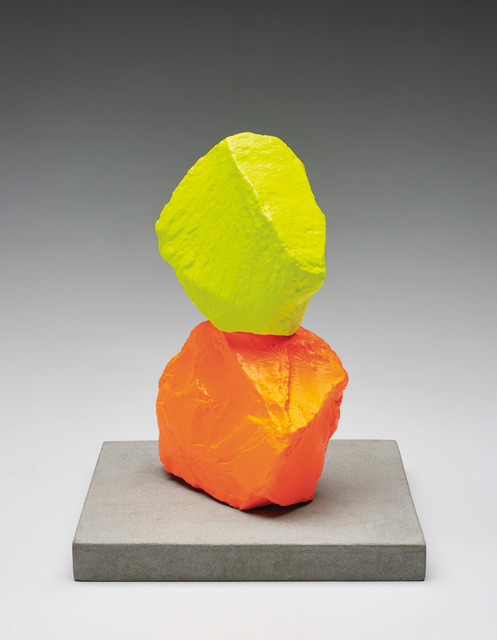 Ugo Rondinone, 'Small Orange Yellow Mountain', 2014, Phillips