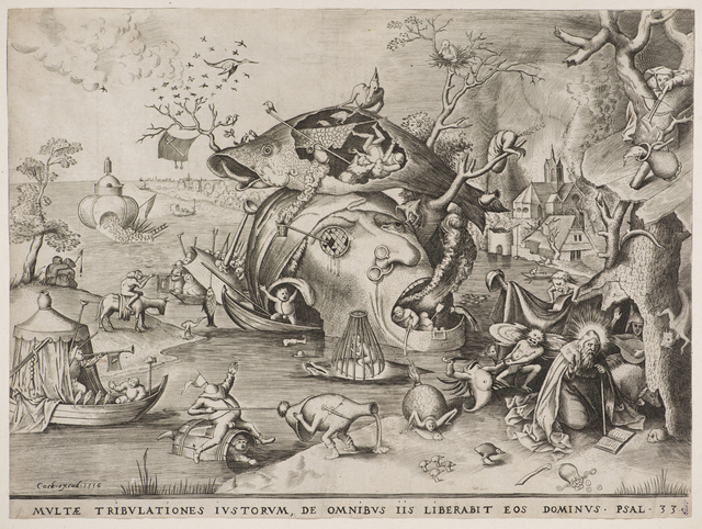 , 'The Temptation of Saint Anthony,' 1556, Bowdoin College Museum of Art