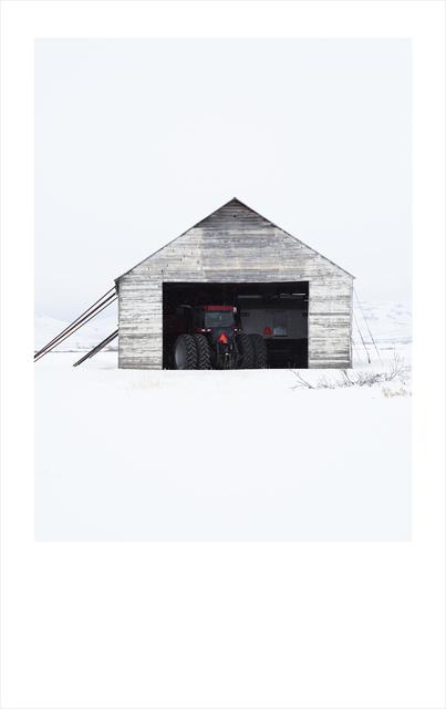 Wendel Wirth, 'White Barn I', 2018, Gilman Contemporary