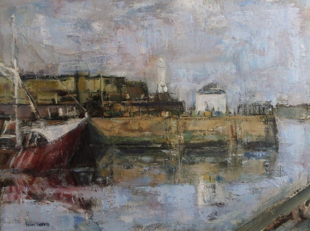 , 'Last days, red fishing boat,' , Castlegate House Gallery