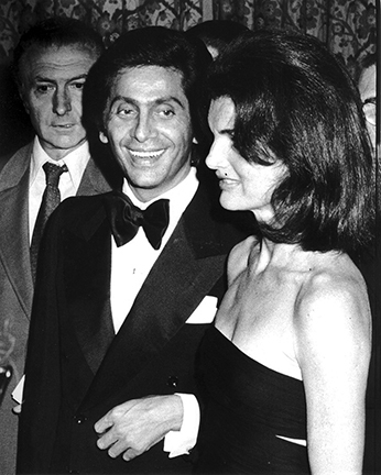 , 'Valentino and Jackie Onassis, Valentino Fashion Show to Benefit the Special Olympics, Pierre Hotel, New York,' 1976, Staley-Wise Gallery