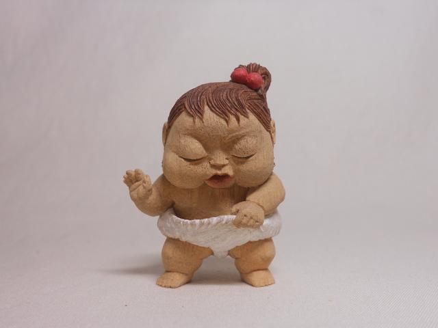 Miki NAGASAKI, 'Oops?', 2014, Sculpture, Camphor, Watanuki Ltd. / Toki-no-Wasuremono