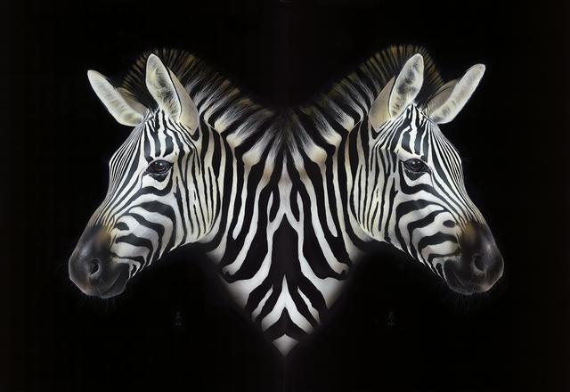 , 'Yikes Stripes,' 2015, Louis K. Meisel Gallery