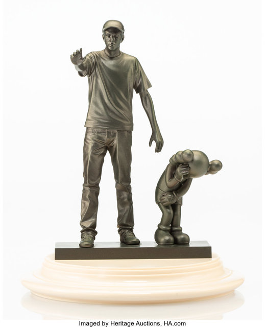 KAWS, 'Companion (Partners)', 2011, Sculpture, Vinyl with plastic base, Heritage Auctions