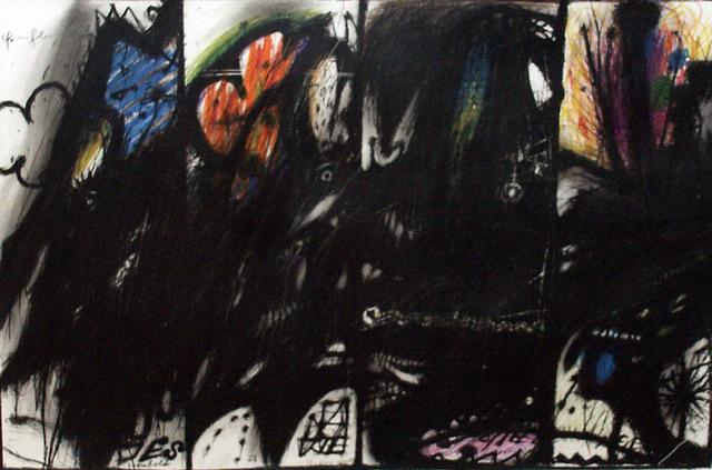 , 'Als Gladiator (Die vier Gladiatoren als Wasserspeier) (Wahnhall II),' 1967, Mario Mauroner Contemporary Art Salzburg-Vienna