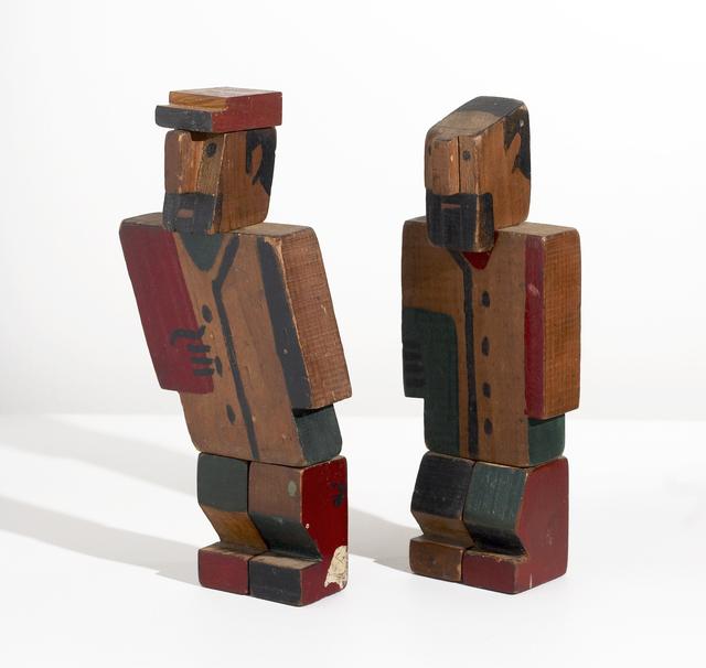 , 'Twowooden men,' ca. 1928, Cecilia de Torres, Ltd.