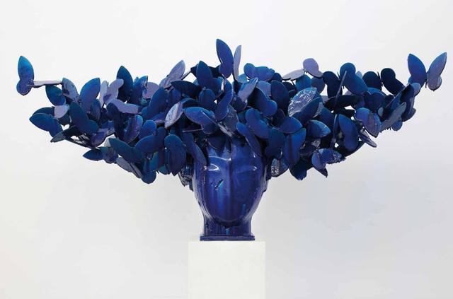 , 'Mariposas azules,' 2016, Opera Gallery