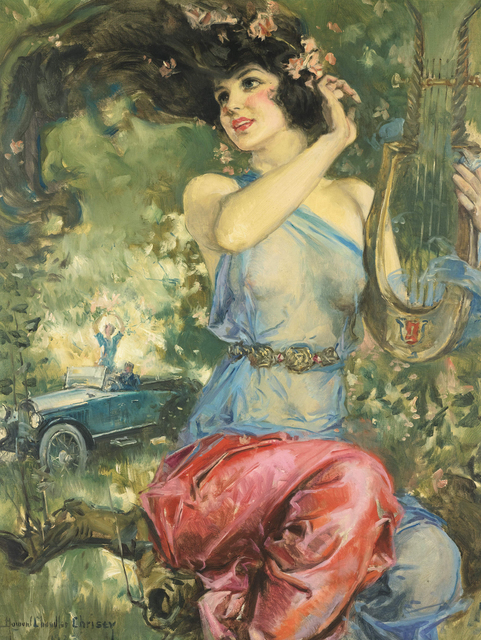 Howard Chandler Christy, 'Motor Magazine Cover', 1923, The Illustrated Gallery