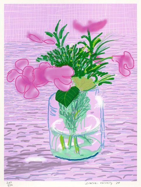 David Hockney, 'iPad drawing Untitled, 329', 2010, The Drang Gallery