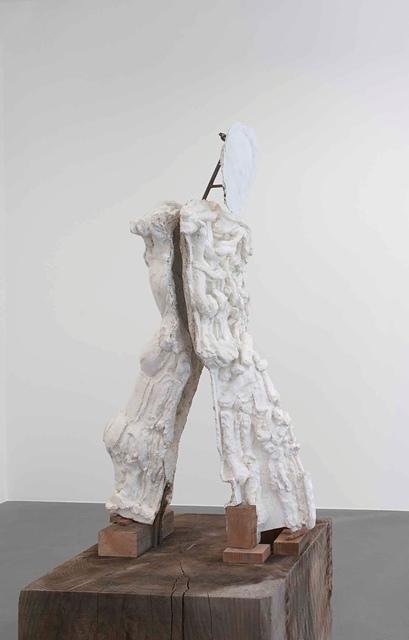 , 'Yet to be titled (Walking boy on plinth),' 2013, Gagosian