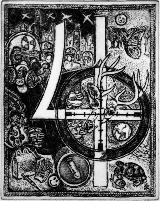 , '4 - Four play,' 2016, Bert Green Fine Art