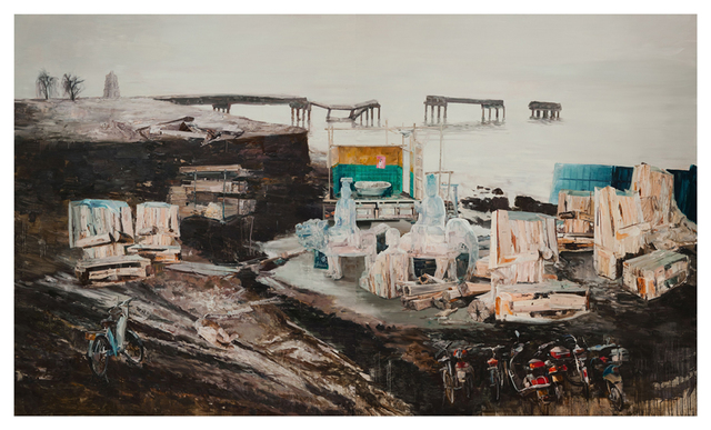 Li Qing 李青, 'A Buddha Factory at the Riverside', 2012, Leo Xu Projects