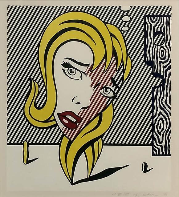 Roy Lichtenstein, 'BLONDE (SURREALIST SERIES)', 1978, Marcel Katz Art