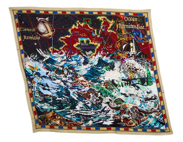 , 'Iphupha, ikhamanga nobulungu bolwandle [A Dream, Strelitzia and white ocean foam.],' 2017, WHATIFTHEWORLD