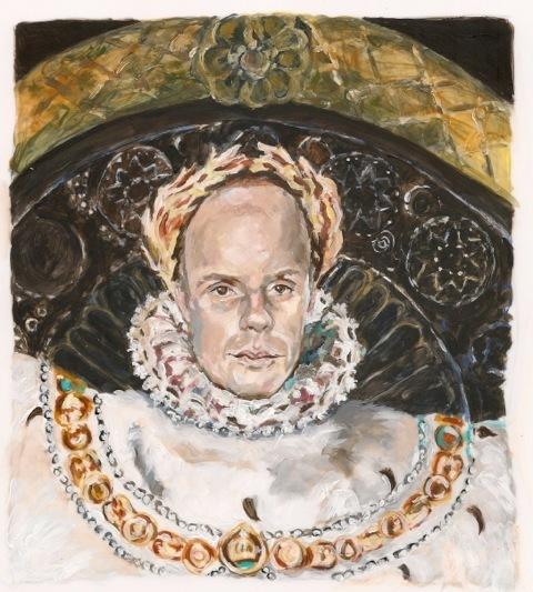 , 'After Ingres: International Curator as Napoleon,' 2015, Cynthia Corbett Gallery