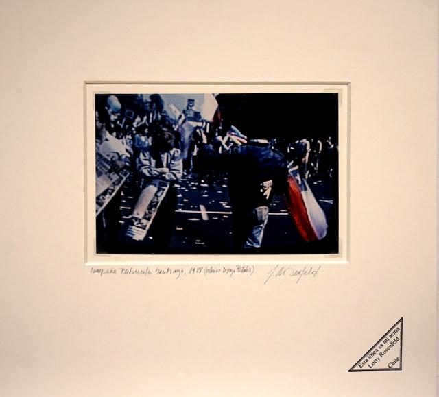 , 'Plebicito 1988 / Edificio Diego Portales / Santiago - Chile,' 1988, Isabel Aninat