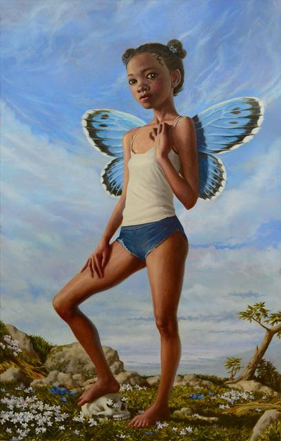 , 'Girl Flying Above it All,' 2017, William Baczek Fine Arts