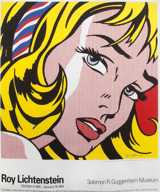 Roy Lichtenstein, 'Solomon R. Guggenheim Poster', 1994, Julien's Auctions