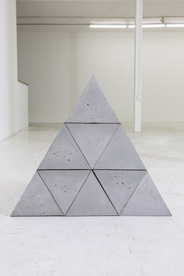 , '9 Triangular Blocks,' 2014, Nina Johnson